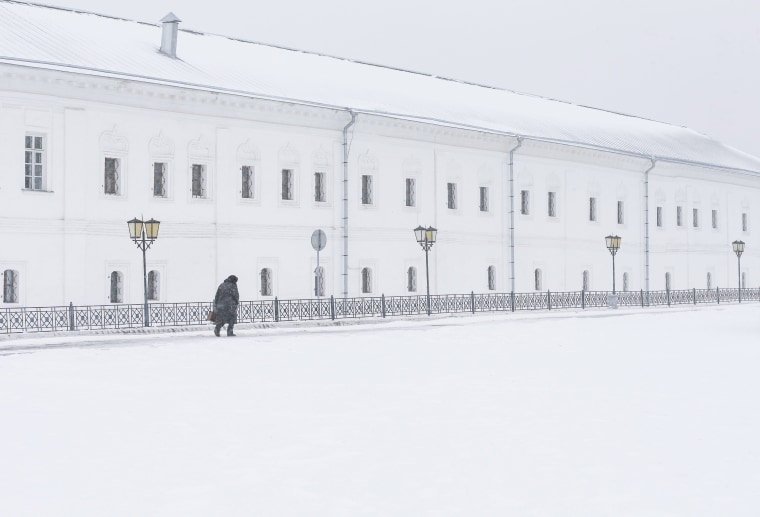 Image: Snowfall in Kolomna