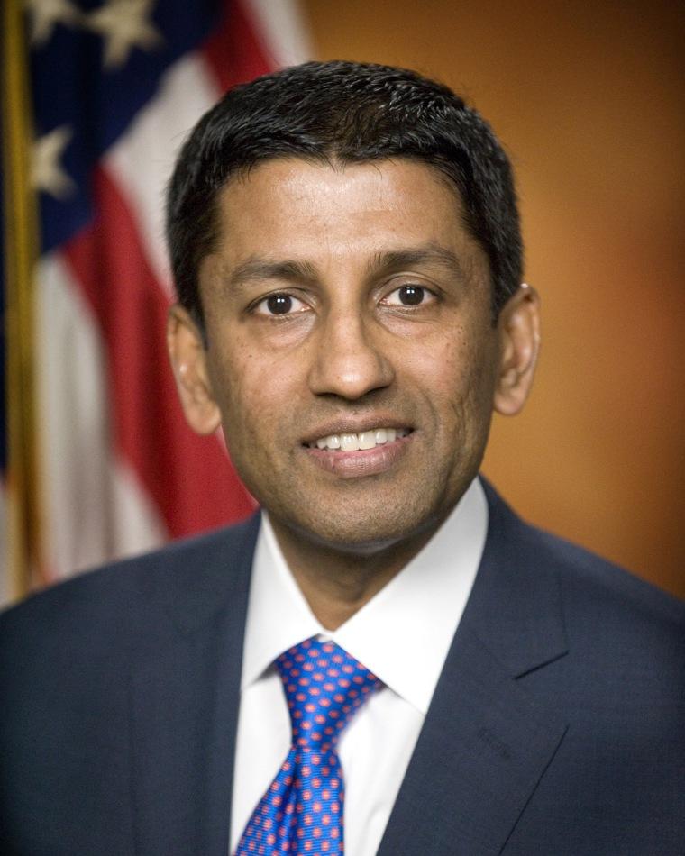 Image: Handout photo of U.S. Deputy Solicitor General Sri Srinivasan