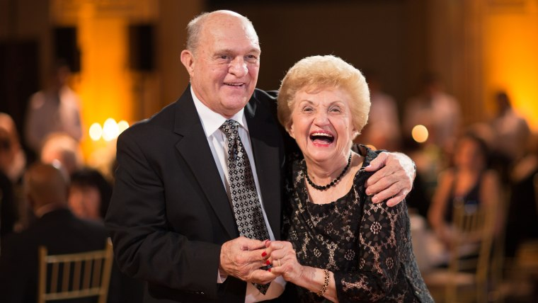 Marian and Philip Sarno have been married for 61 years.