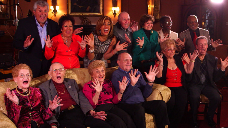 Hoda Kotb gets in the Valentine's Day mood, along with the help of 6 couples who have each been married for 50 years or more.