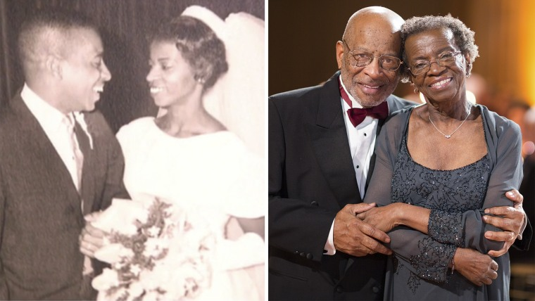 Kenneth and Shirley Radcliffe, who have been married for 52 years, say honesty is one of the keys to a successful relationship.