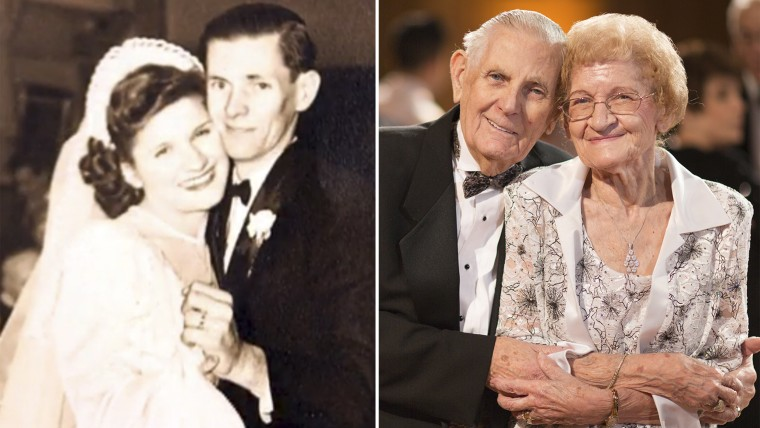 Ed and Doris Zeiser have known each other since they were 14. They have been married 68 years.