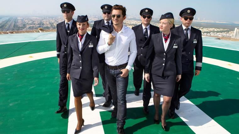 Flight attendant uniforms