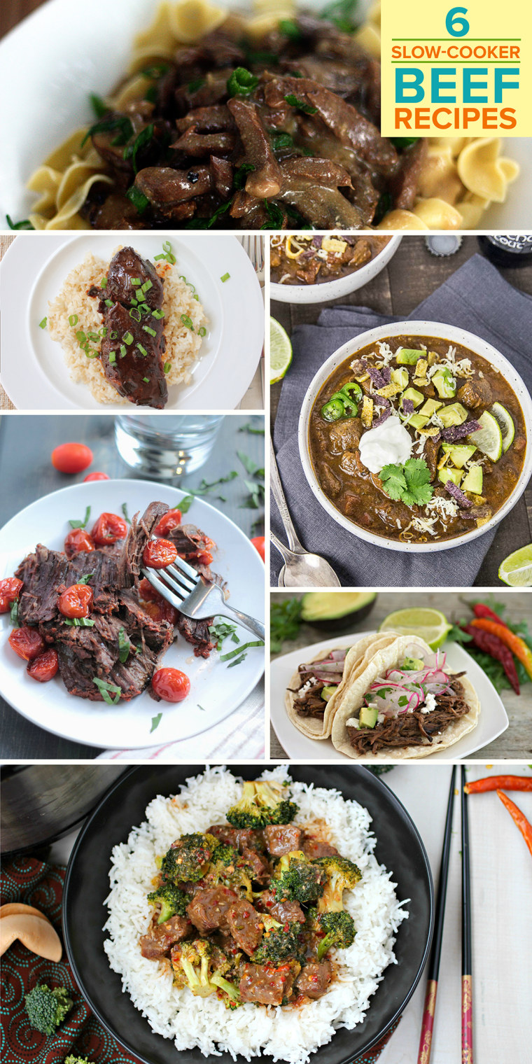 Pinterest TOPS for 6 slow-cooker beef recipes