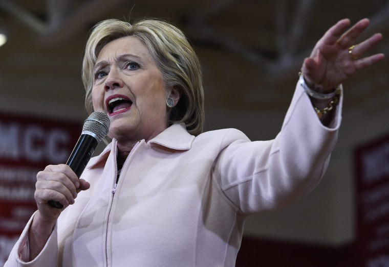 Image: Hillary Clinton for the Iowa Caucus