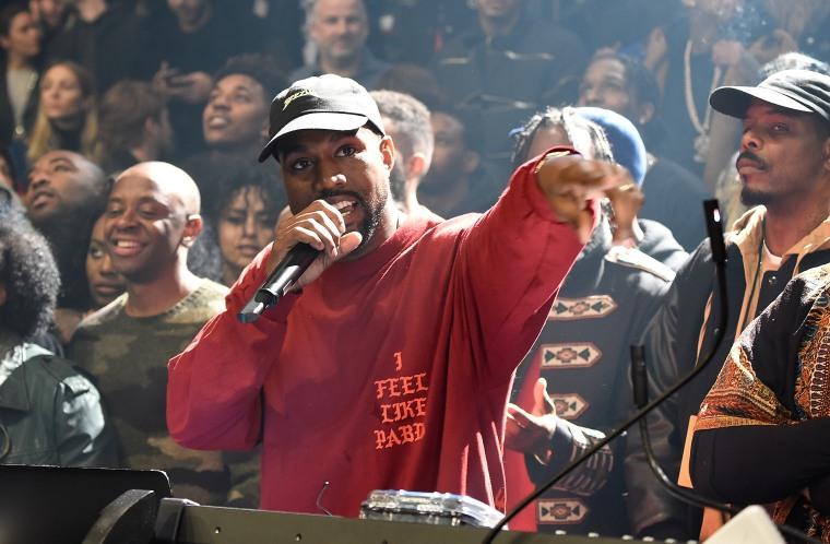Image: Kanye West at Madison Square Garden