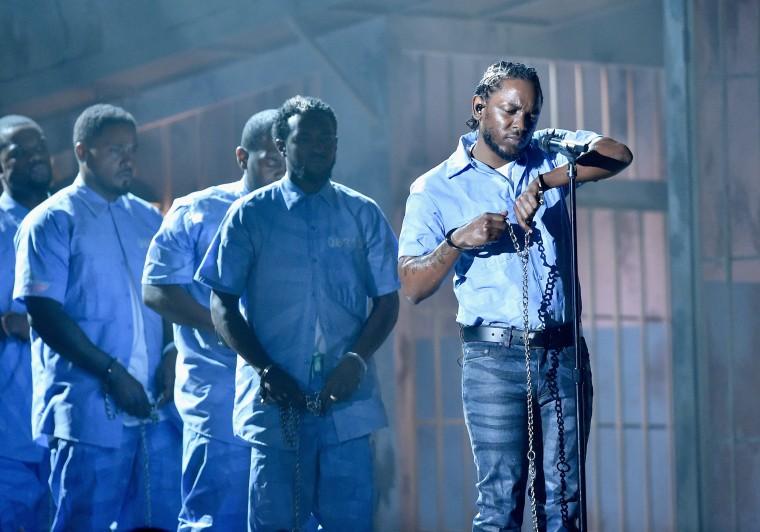 Image: Rapper Kendrick Lamar performs
