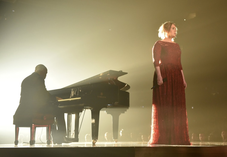 Image: Singer Adele performs onstage