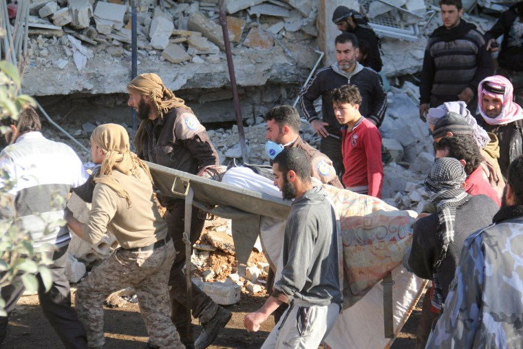 Image: SYRIA-CONFLICT-MSF-HOSPITAL