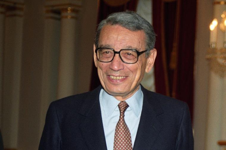 Image: Former UN secretary general Boutros Boutros-Ghali is dead