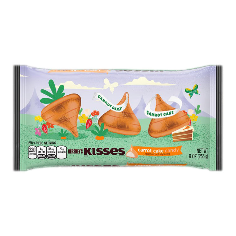 Carrot Cake Kisses: They're a thing this Spring. Photo courtesy of Hershey