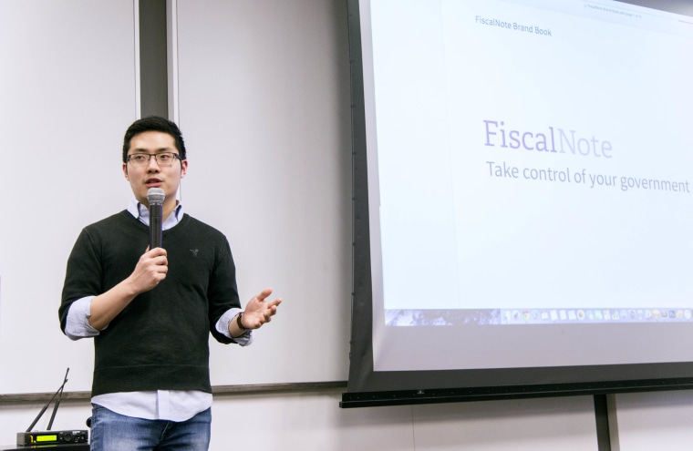 Tim Hwang is the founder of FiscalNote, a legal analytics platform based in Washington D.C.
