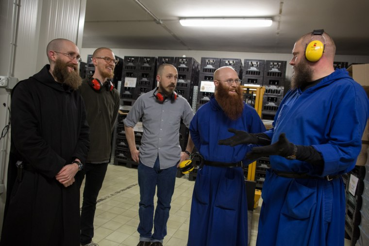 The Benedictine monks have been brewing in Norcia for three years.