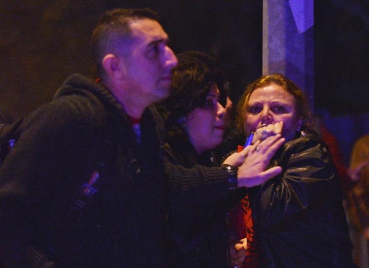 Image: People Reacting at Ankara Turkey Explosion