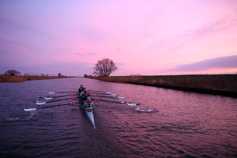 Image: The 2016 Cancer Research UK Boat Race - Cambridge Crews Day