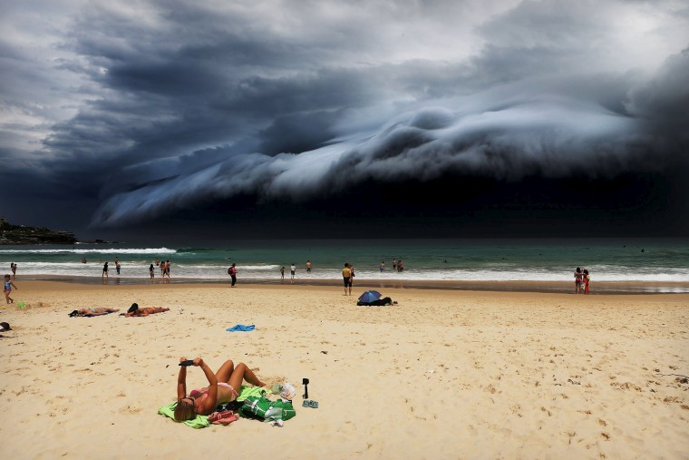 Image: Rohan Kelly - Storm Front on Bondi Beach