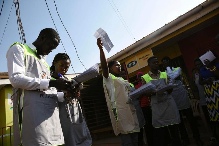 Image: UGANDA-POLITICS-VOTE