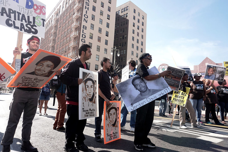 National Day of Protest to Stop Police Brutality in Los Angeles