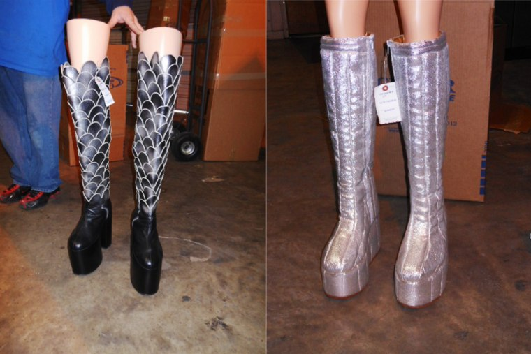 Image: Kiss Auction Boots