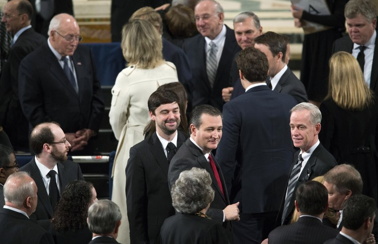 Image: Ted Cruz attends Scalia's funeral
