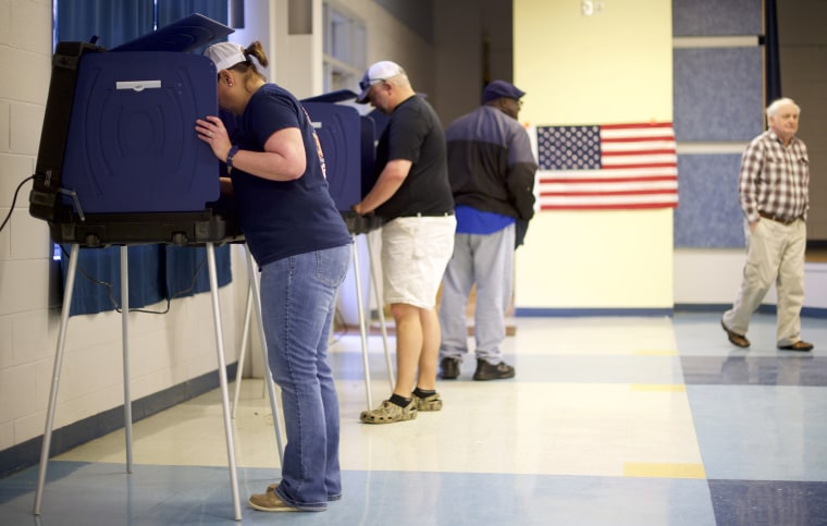 Image: South Carolina Voters Take Part In The State's Republican Primary