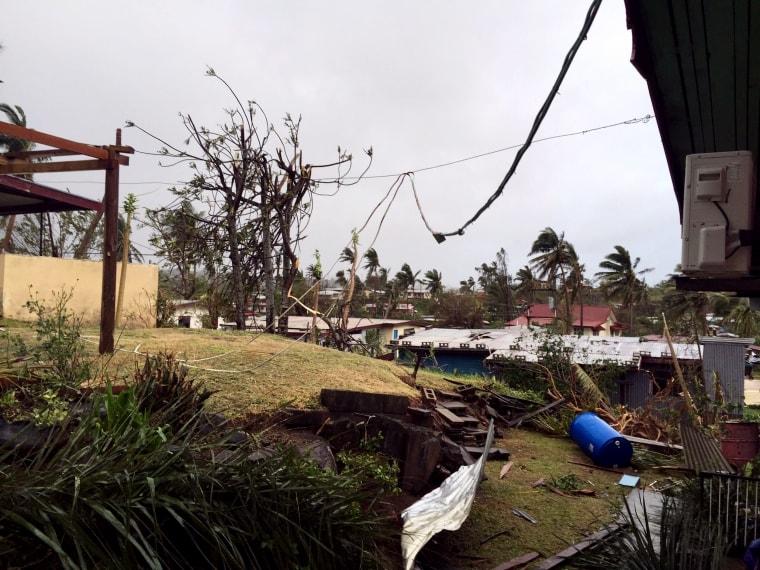 Image: Cyclone Winston hits Fiji