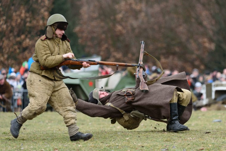 Image: The Battle of Poznan reenactment