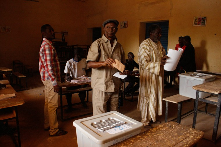 Image: Niger elections 2016