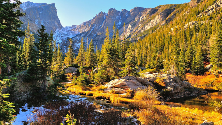 family vacations with baby or toddler: national park vacations