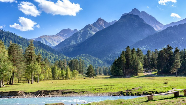 family vacations with baby or toddler: mountains