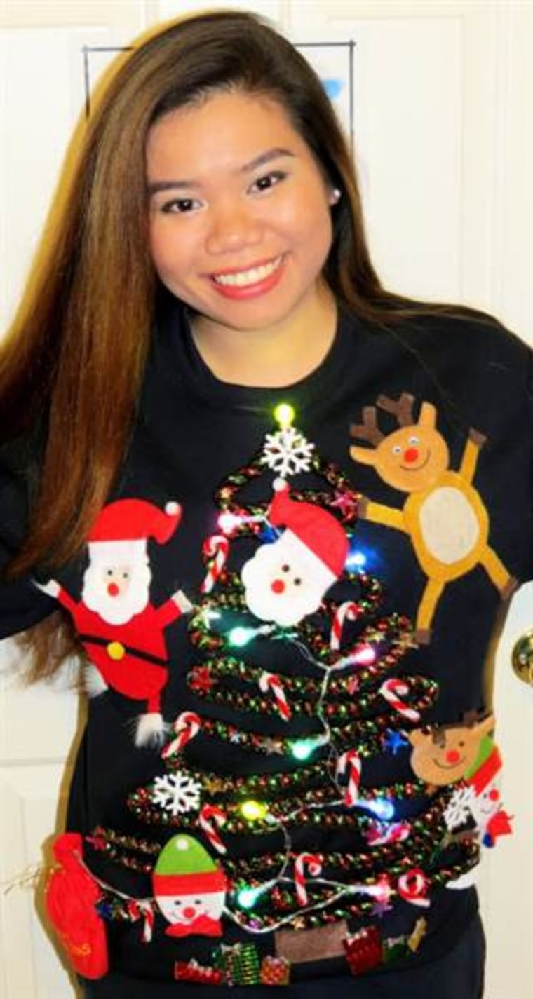 7 diy ugly christmas sweaters from pinterest nonachewy solutioingenieria Image collections
