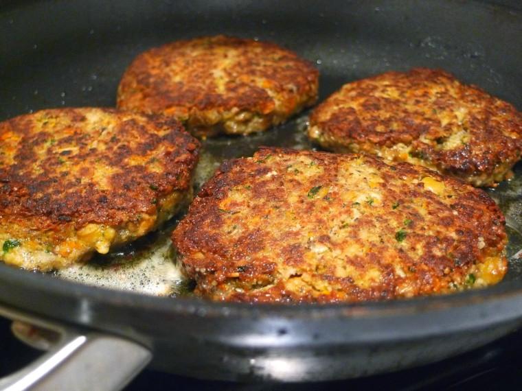 Siri Daly's Chickpea Burgers