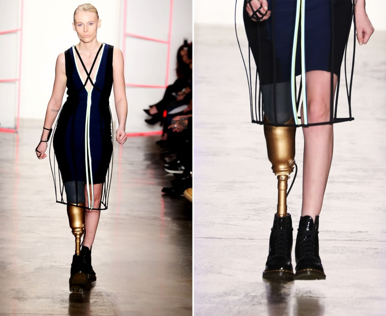 28-Year-Old Model Who Lost Her Leg From Using Tampons Walked at New York Fashion Week