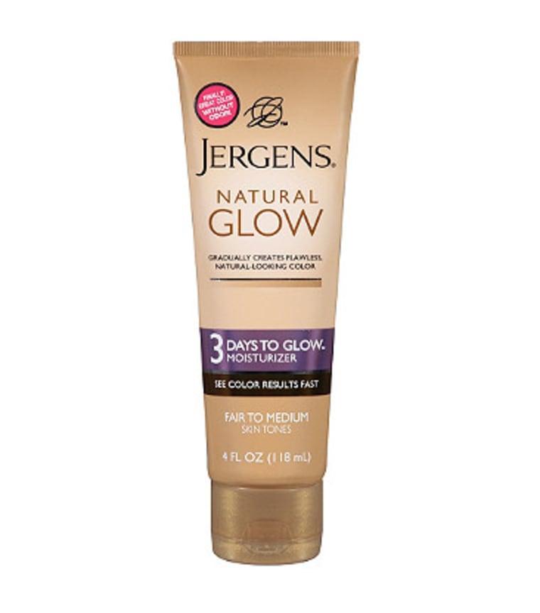 Jergens Natural 3 Days to Glow Moisturizer