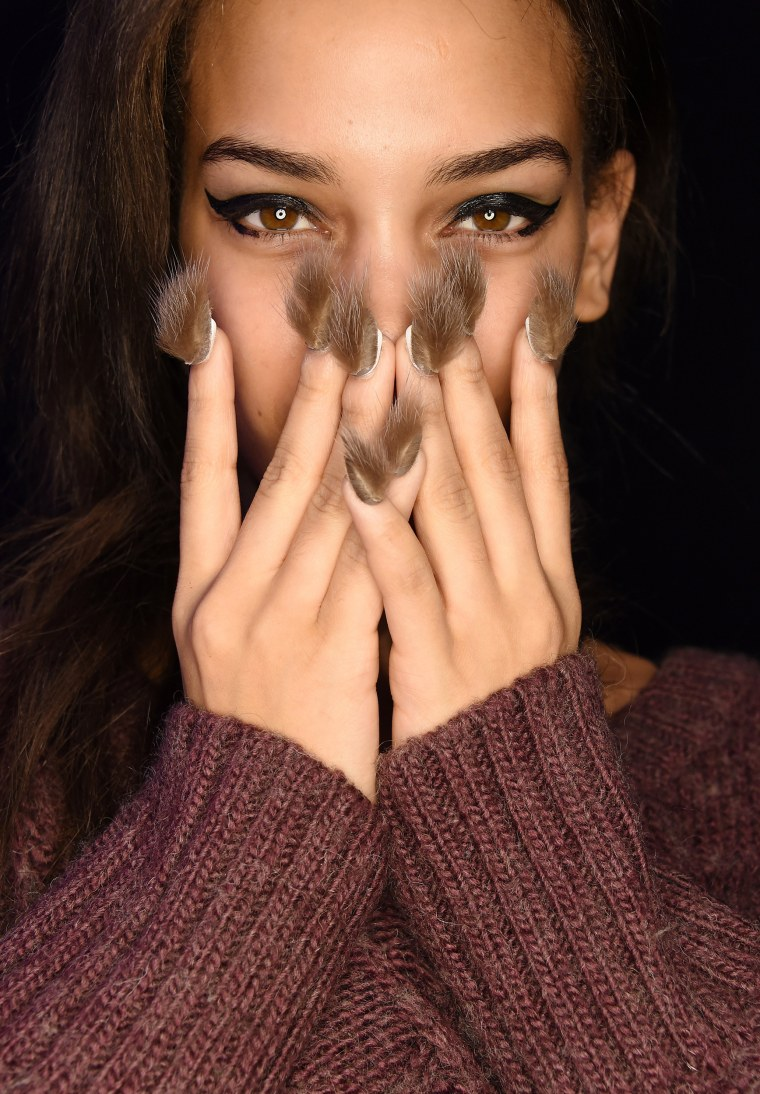 This Winter Nail Art Is the Craziest Way to Celebrate the Season pics