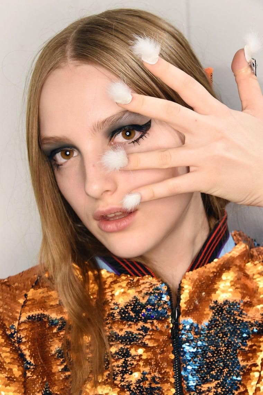 Furry nails at Libertine Fashion Week
