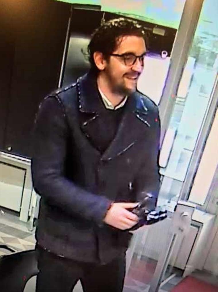 Image: Suspect in Zurich jewel heist