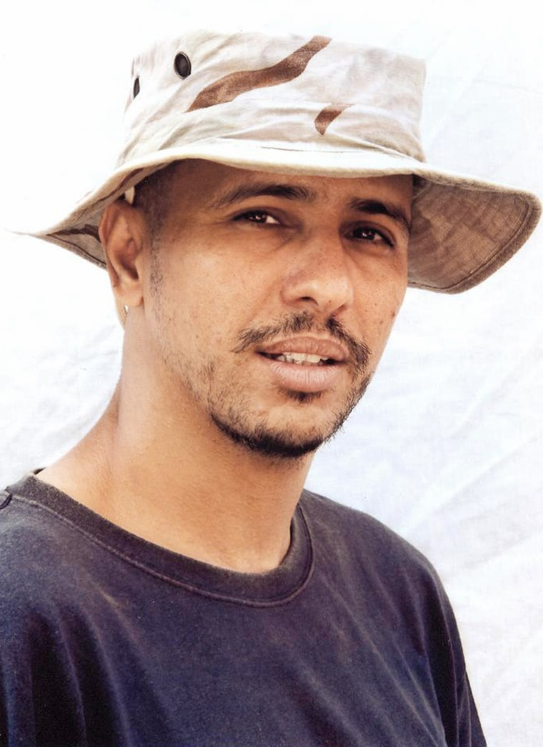 Mohamedou Ould Slahi has been held at the U.S. detention camp in Guantanamo Bay, Cuba, since 2002.