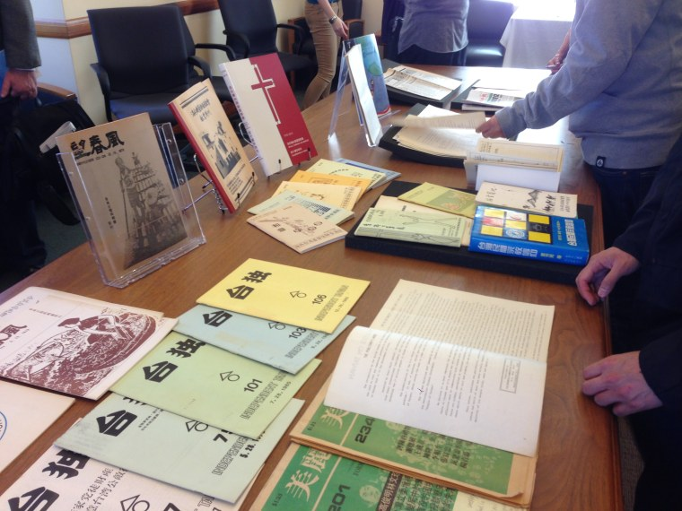 Documents collected as part of the creation of the USC Taiwanese American Digital Archive, a project to document local and national Taiwanese-American history.