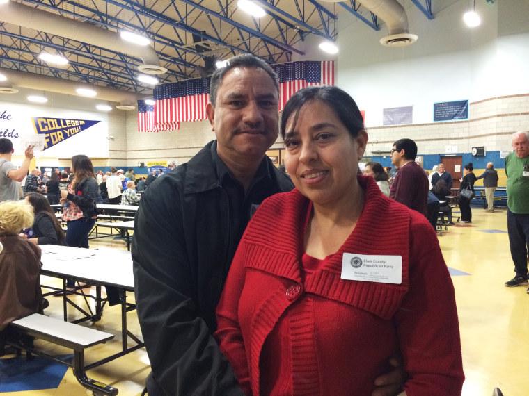 Image: Rafael Mundo, and evangelical pastor, and his wife Martha Mundo