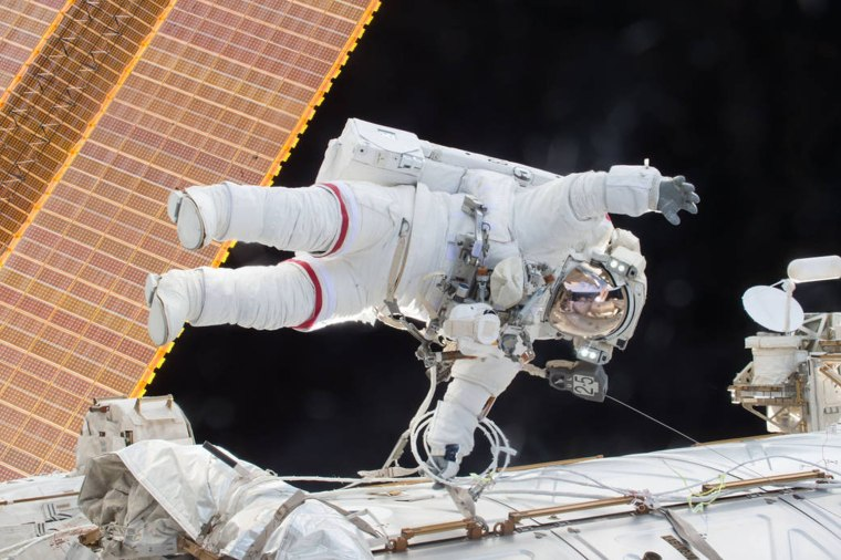 Image: Year in Space 07- Astronaut