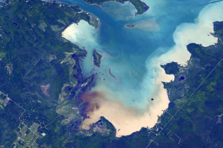 Image: Year in Space 08- Great Lakes