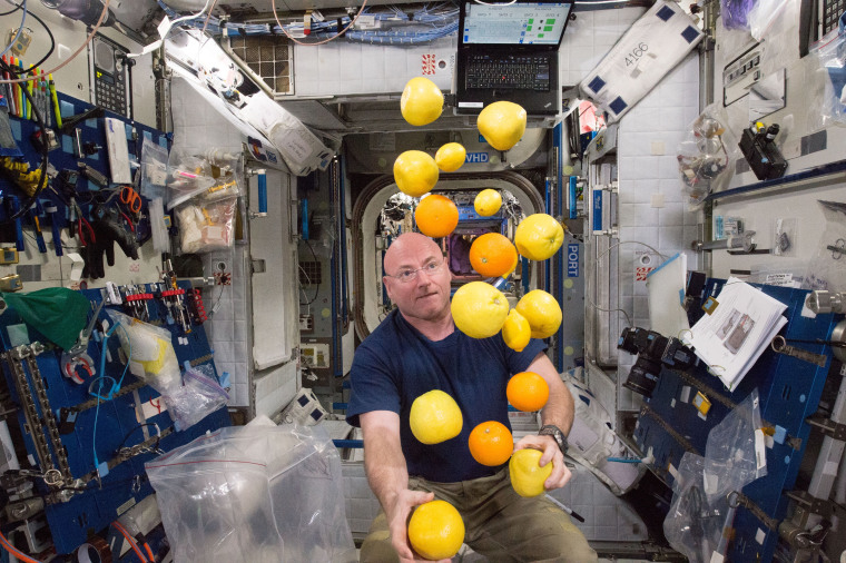 Image: Year in Space 22- Juggling