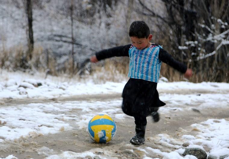 Image: Messi Jersey Boy Plastic Bag