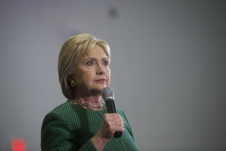 Image: Hillary Clinton Campaigns In South Carolina Ahead Of Primary