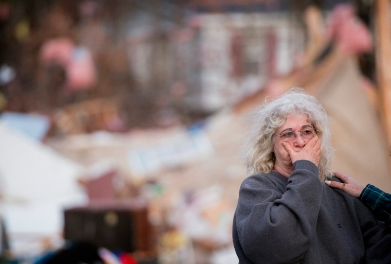 Image: East Coast Storms Woman