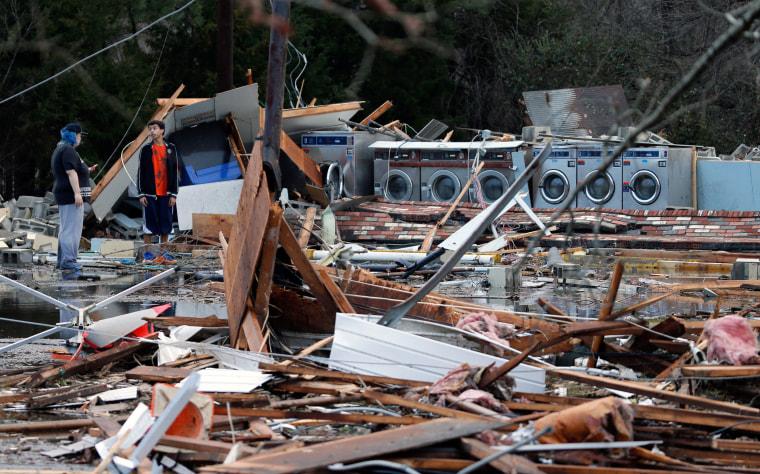 Image: East Storm Coast Storms Laundromat