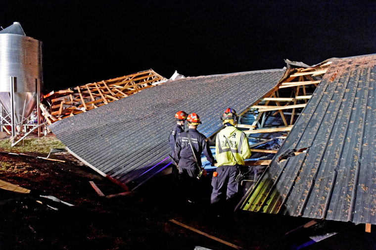 Image: East Coast Storms Penn Workers