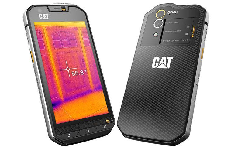The S60's built-in thermal camera could be mighty useful, or just mighty fun.