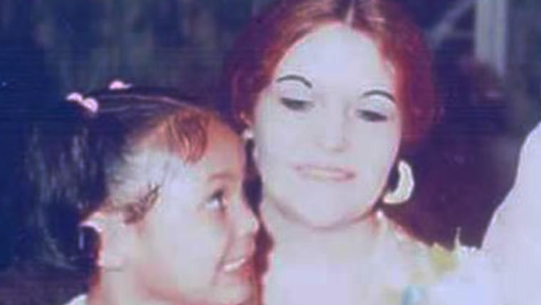 Cynthia Day with her daughter, Melody.